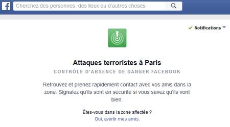 facebook alerte attaques terroristes