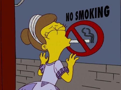 gifa simpsons smoking