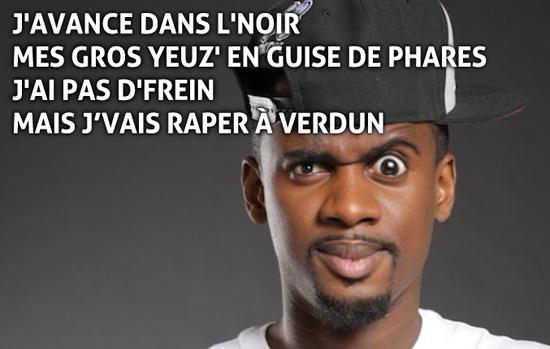 black M rape à verdun