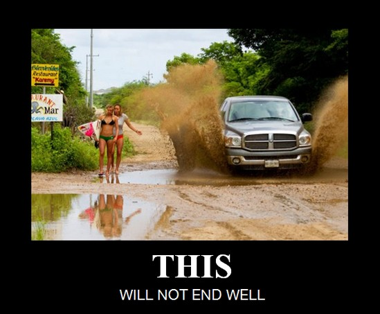 this will not end well - mud