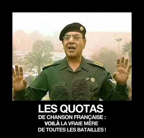 quotas de chanson française - mère de toutes les batailles