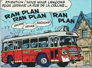 bus à pédales