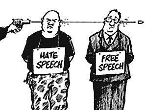 freedom of speech - liberté d'expression