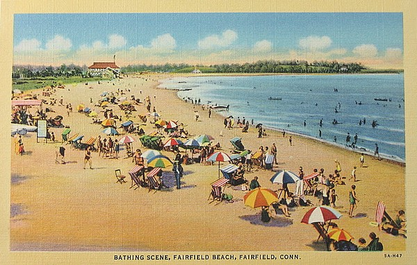 vintage beach - connecticut