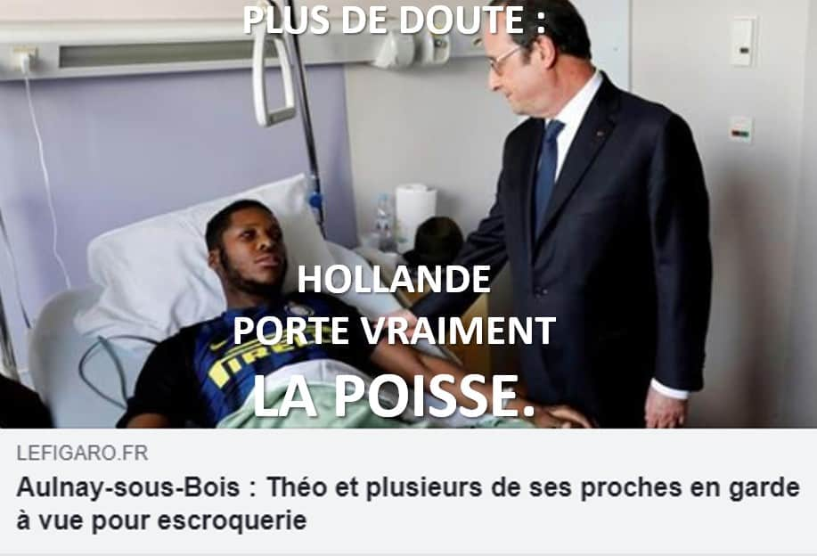 hollande la poisse