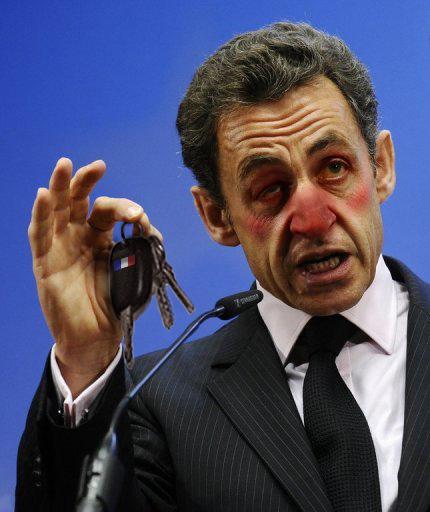 Boire ou conduire la France, il a choisi. Les deux.
