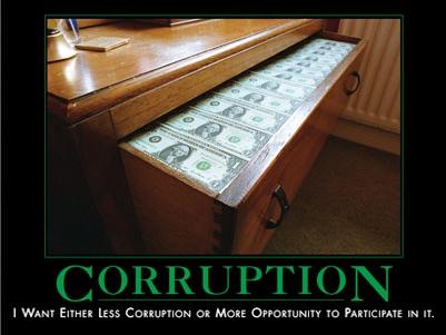 Corruption !