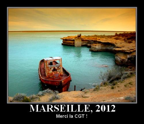 Port de Marseille en 2012 : merci la CGT