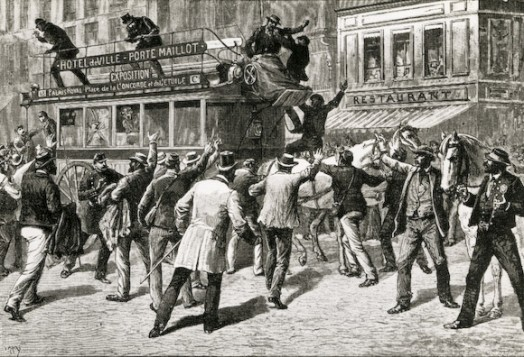 Grève en 1891