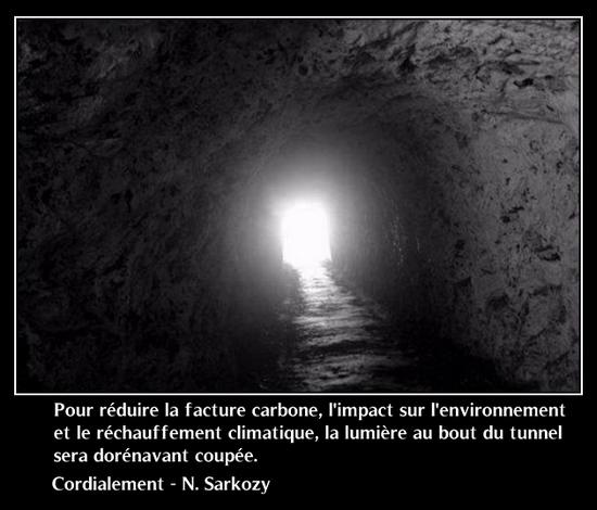 Finie la lumière au bout du tunnel !