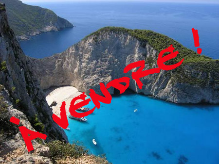Grèce à vendre