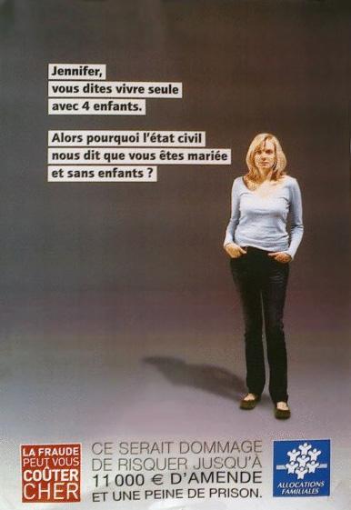 La CAF stigmatise Jennifer