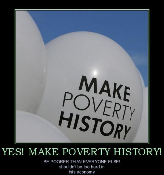 Make poverty history !