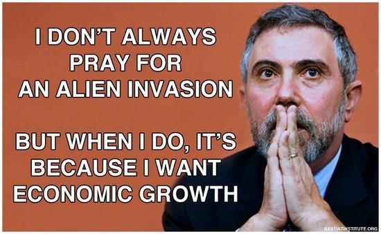 Krugman, des aliens et l'économie