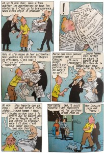 Tintin et le secret de Cahuzac