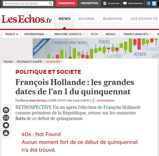 hollande moments forts : 404 not found