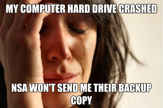 nsa backup copy