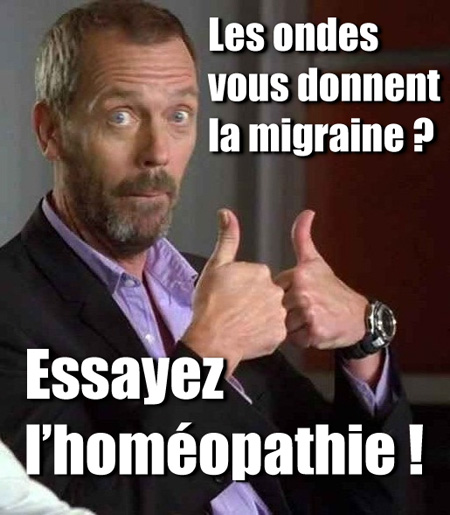 dr house ondes homeopathie