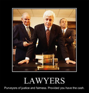 lawyers demotivator