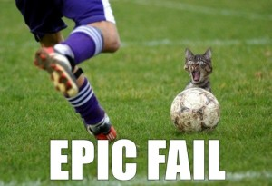 epic cat fail