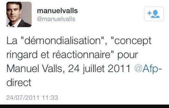 valls demondialisation