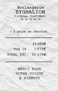 ticket caisse bygmalion