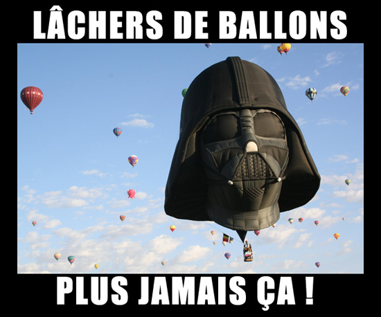 lâchers de ballons