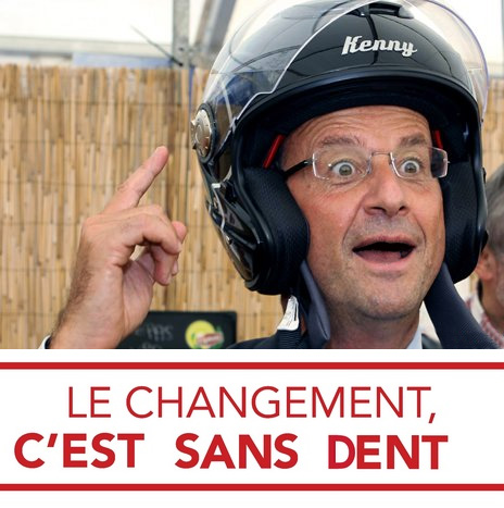hollande, le changement sans dents