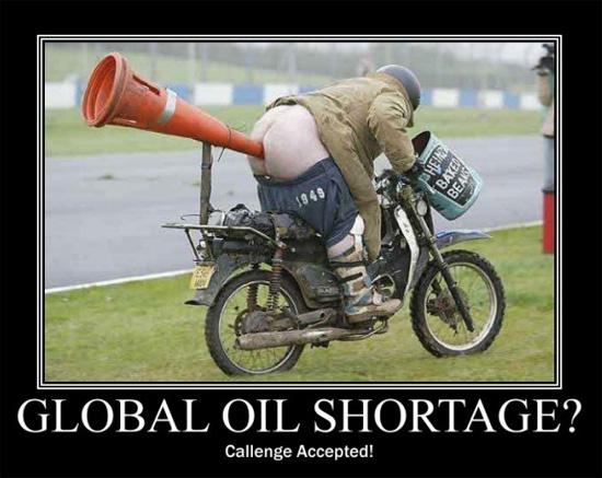 peak oil shortage