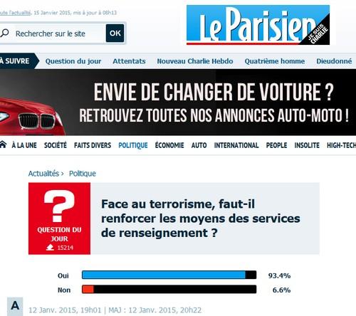 parisien renforcer renseignements