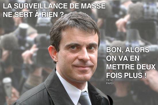 valls et la surveillance de masse