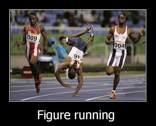 figure running
