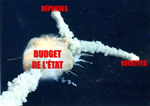 budget état dépenses recettes