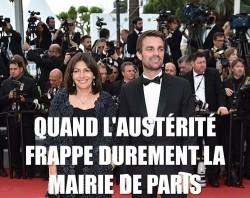 hidalgo julliard cannes austérité mairie paris
