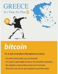 Bitcoin : Greece real plan b