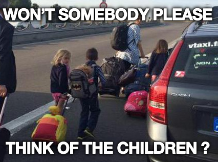 wont somebody think of the children