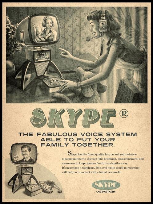 skype vintage