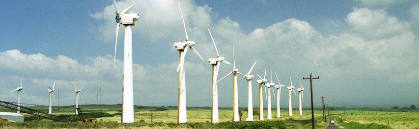 abandoned wind turbines