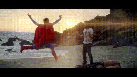 gifa superman supershoot
