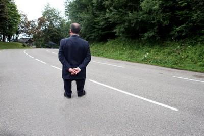 hollande de dos, un président à la hauteur