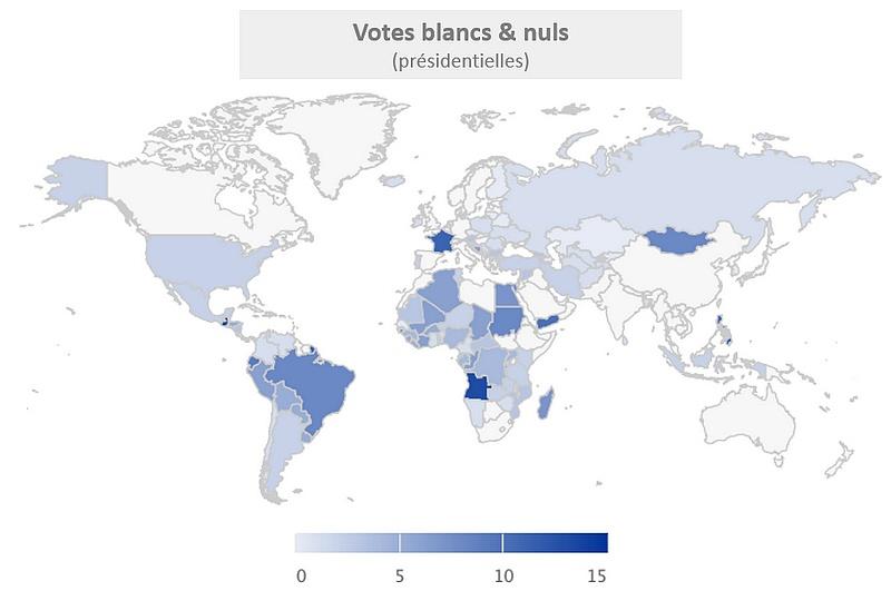 votes invalides élections présidentielles monde